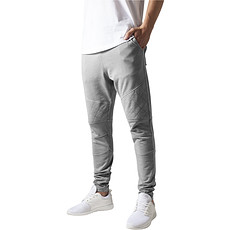URBAN CLASSICS Jogginghose Diamond Stitched grau