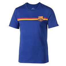 Nike FC Barcelona T-Shirt Blau