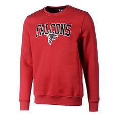 New Era Atlanta Falcons Sweatshirt Script rot