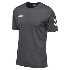 hummel T-Shirt Core Poly dunkelgrau
