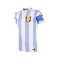 Copa Argentinien T-Shirt Capitano Kinder blau/weiß