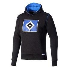 Hamburger SV Hoodie Raute Kinder schwarz/blau