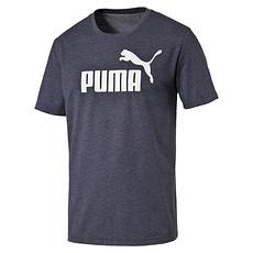Puma T-Shirt ESS No. 1 Blaugrau