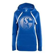 FC Schalke 04 Hoodie Signet Damen Königsblau