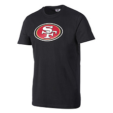 New Era T-Shirt San Francisco 49ers Logo schwarz