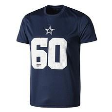 New Era Dallas Cowboys T-Shirt Supporters blau