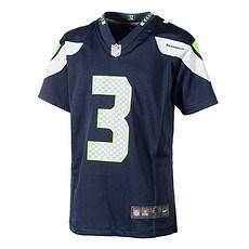 Nike Seattle Seahawks RUSSELL WILSON 3 Trikot Kinder blau