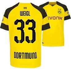 Puma Borussia Dortmund Heim Trikot WEIGL 2018/2019 Kinder