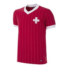 Copa Schweiz 1982 Short Sleeve Retro Shirt