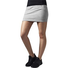 URBAN CLASSICS Skirt French Terry Damen Grau