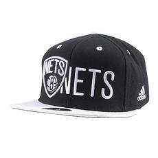 Adidas Brooklyn Nets Cap schwarz