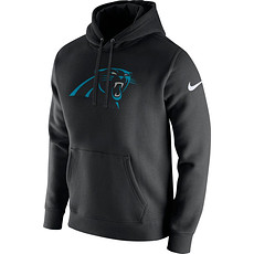 Nike Carolina Panthers NFL Club Hoodie Schwarz