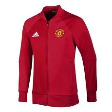 Adidas Manchester United Anthem Jacke Rot