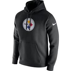 Nike Pittsburgh Steelers NFL Club Hoodie Schwarz