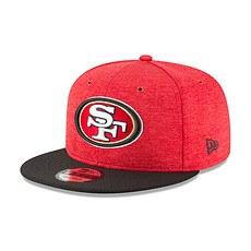 New Era San Francisco 49ers Cap 9FIFTY Sideline 2018 rot
