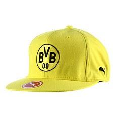 Puma Borussia Dortmund Cap Logo Gelb