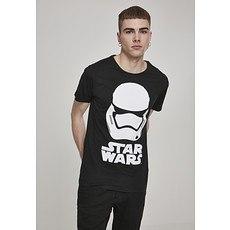 MERCHCODE T-Shirt Star Wars Trooper schwarz
