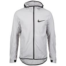 Nike Kapuzenjacke Showtime Basketball grau/schwarz