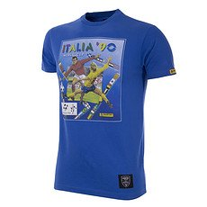 Copa PANINI T-Shirt World Cup 1990 Italien blau