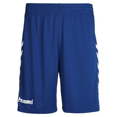 hummel Shorts Core Poly blau