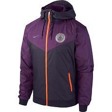 Nike Manchester City Windrunner Colourblock Schwarz
