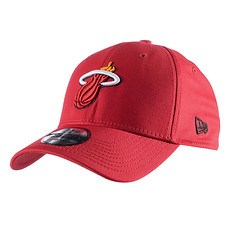 New Era Miami Heat Cap Team 39Thirty schwarz