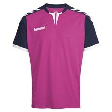 hummel T-Shirt Core SS Poly rosa/marine