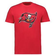 Majestic Athletic Tampa Bay Buccaneers T-Shirt Splatter rot