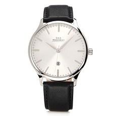 Luca Maranello Uhr Semplice Silber/Schwarz