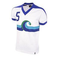 Copa Kalifornien Surf Away 1980 Short Sleeve Retro Shirt
