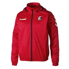 hummel SC Freiburg Trainingsjacke Core Spray rot