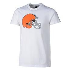 New Era Cleveland Browns T-Shirt Logo weiß