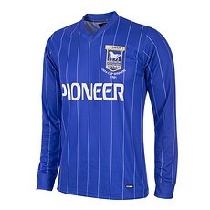 Copa Ipswich Town 1981/82 Long Sleeve Retro Shirt