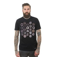 Copa T-Shirt Hexagon Stadium schwarz