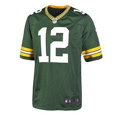 Nike Green Bay Packers AARON RODGERS 12 Trikot Heim 2019/2020 Grün