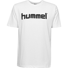hummel T-Shirt Cotton Logo weiß