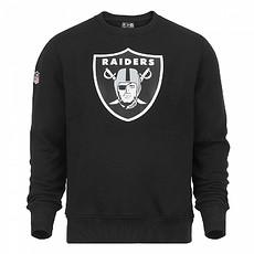 New Era Oakland Raiders Sweatshirt Team Logo schwarz