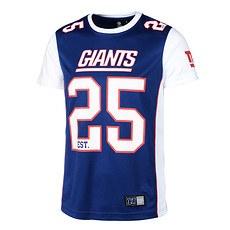 Majestic Athletic New York Giants T-Shirt Poly Mesh Dene blau/weiß