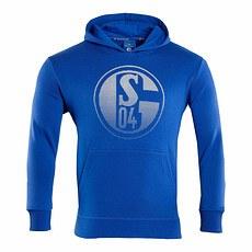 FC Schalke 04 Hoodie Signet Kinder Königsblau