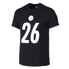 Majestic Athletic Pittsburgh Steelers T-Shirt Bell No 26 schwarz