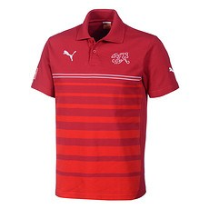 Puma Schweiz Polo Shirt Leisure Rot