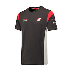 Haas F1 Team T-Shirt grau