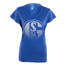 FC Schalke 04 T-Shirt Signet Damen Königsblau
