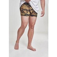 URBAN CLASSICS Boxershorts Camo 2er-Pack wood/dark camo