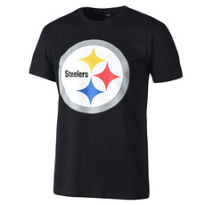 Majestic Athletic Pittsburgh Steelers T-Shirt PRISM schwarz