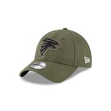 New Era Atlanta Falcons Cap 9TWENTY Salute To Service grün