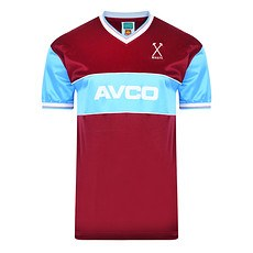 Scoredraw West Ham United Retro Trikot 1983