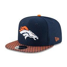 New Era Denver Broncos Cap NFL 2018 9FIFTY Sideline blau