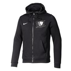 Nike VfL Bochum Kapuzenjacke Team schwarz