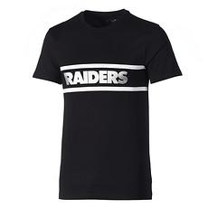 New Era Oakland Raiders T-Shirt Fan F O R schwarz